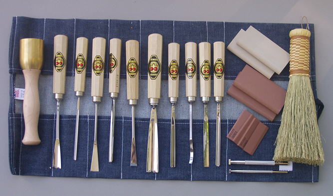 wood carving gouges set