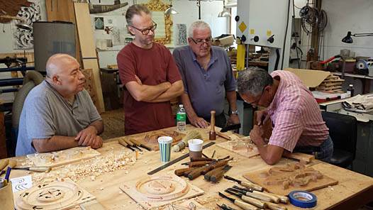 wood carving schools