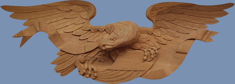 custom wood carving